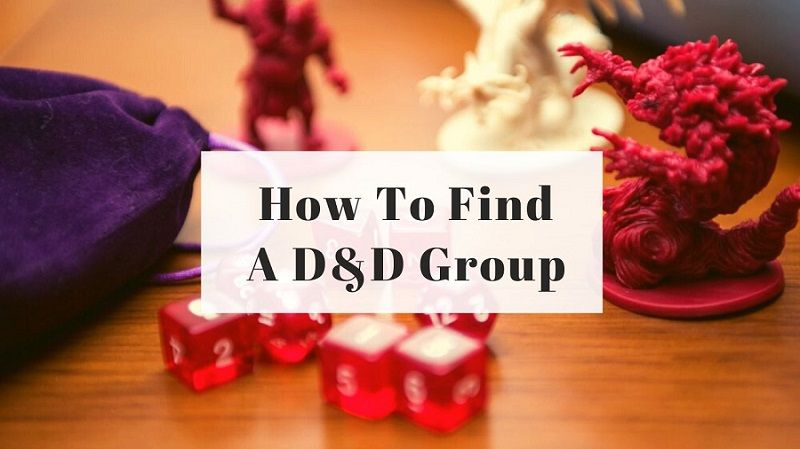 How To Find A D&D Group