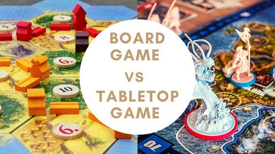 board game vs tabletop game