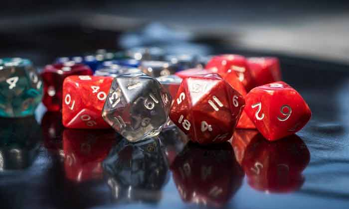 table dice