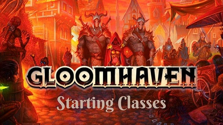 Gloomhaven Starting Classes