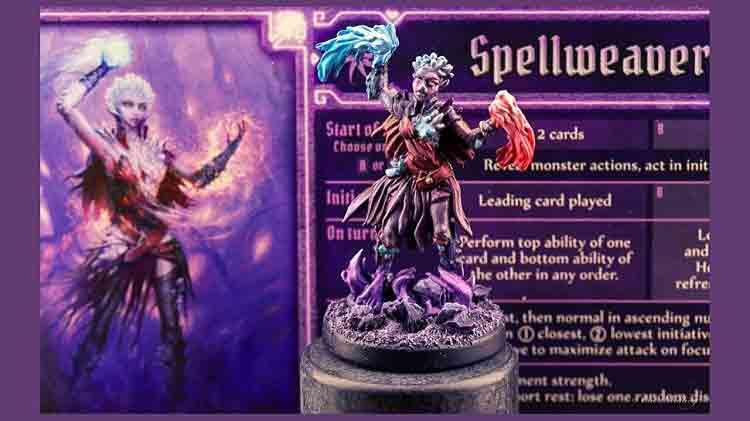 Spellweaver Character