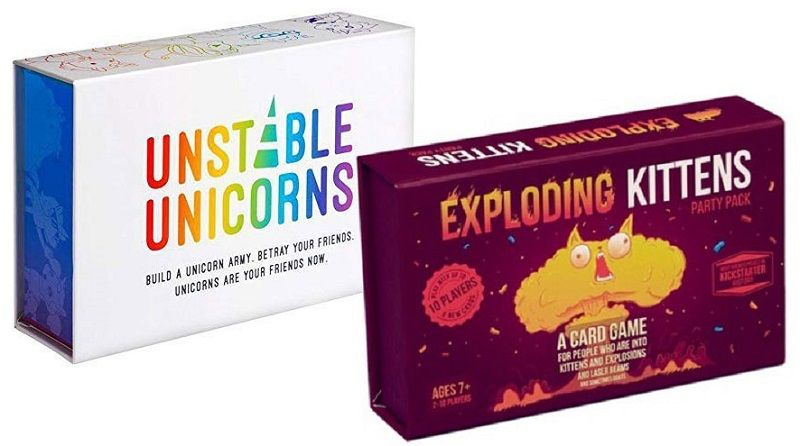 Unstable Unicorns Vs Exploding Kittens