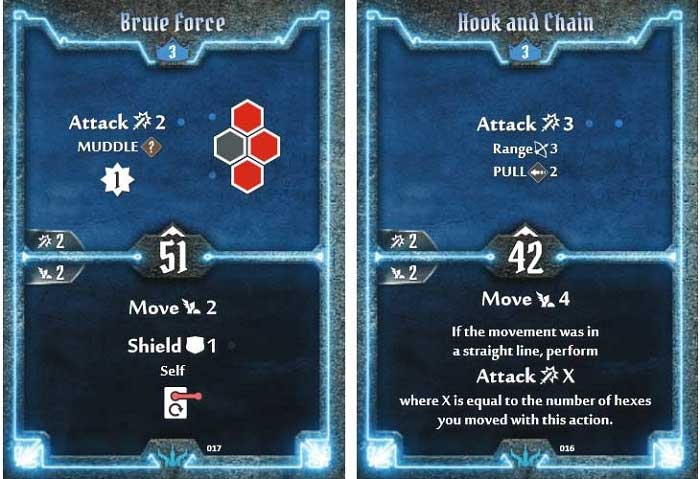brute level 3 cards