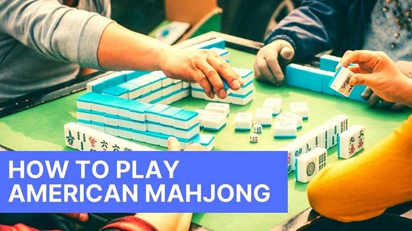 how to play american mahjong
