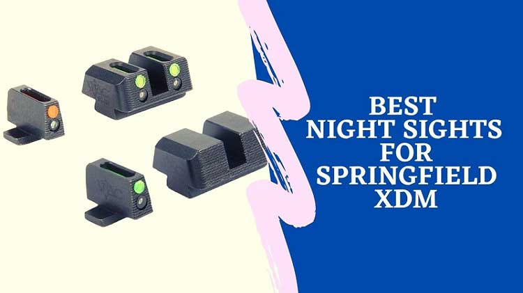 Best Night Sights for Springfield XDM